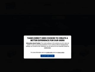 tanks-direct.co.uk screenshot