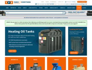 tanksforeverything.co.uk screenshot