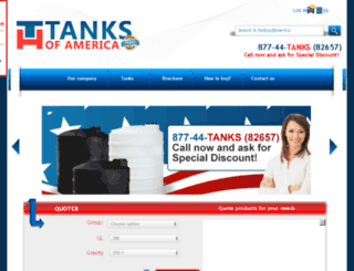 tanksofamerica.com screenshot