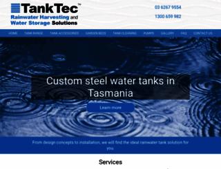 tanktec.com.au screenshot