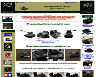 tankzone.co.uk screenshot
