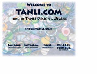 tanli.com screenshot