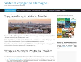 tanned-allemagne.com screenshot