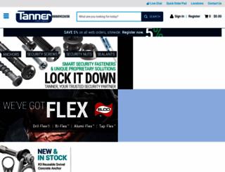 tannerbolt.com screenshot