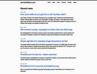 tannerhelland.com screenshot