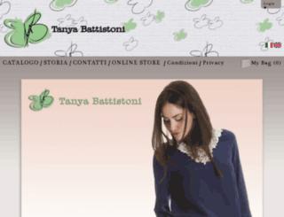 tanyabattistoni.com screenshot