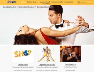 tanz-taxi.com screenshot