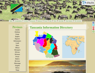 tanzania-info.net screenshot