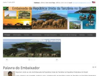 tanzania.org.br screenshot
