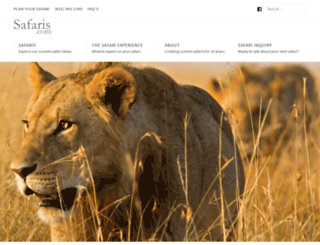 tanzania.safaris.com screenshot