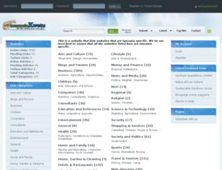 tanzaniakwetu.com screenshot