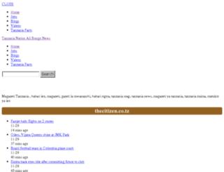 tanzanianation.com screenshot