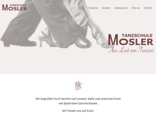 tanzschule-mosler.de screenshot