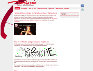 tanzszene-bw.de screenshot