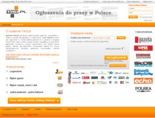 tao.pl screenshot