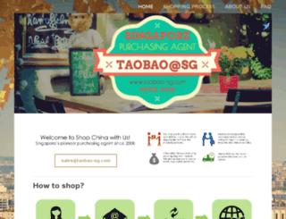 taobao-sg.com screenshot