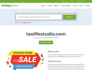 taolifestudio.com screenshot