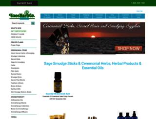 taosherb.com screenshot