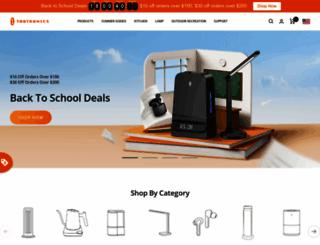 taotronics.com screenshot