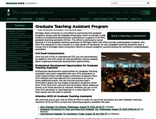 tap.msu.edu screenshot