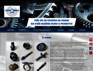 tapai-gear.rs screenshot