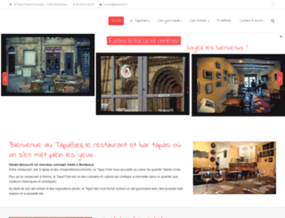 tapaloeil.fr screenshot