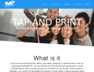 tapandprintid.com screenshot