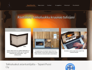 tapanipuosi.fi screenshot