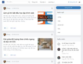 tapchilaptrinh.com screenshot