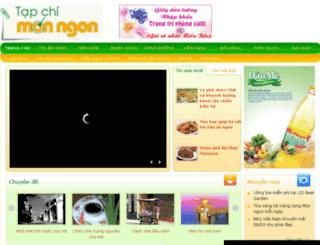 tapchimonngon.com screenshot