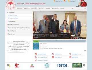 tapdk.gov.tr screenshot