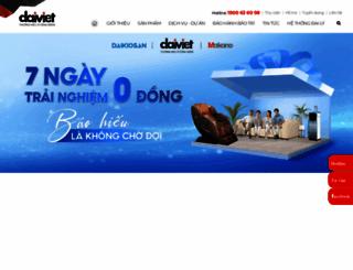 tapdoandaiviet.com.vn screenshot