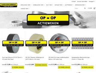 tapeconcurrent.nl screenshot