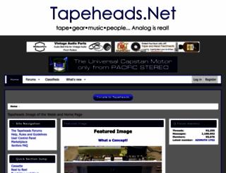 tapeheads.net screenshot