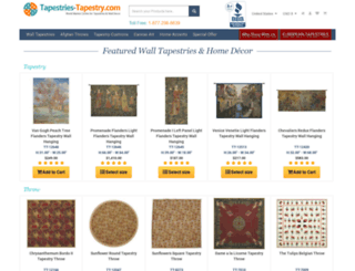 tapestries-tapestry.com screenshot