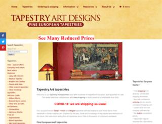 tapestry-art.com screenshot