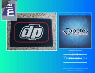 tapetesempresariales.com screenshot