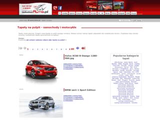 tapety.auto.com.pl screenshot