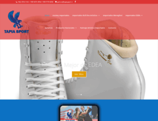 tapiasport.cl screenshot