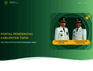 tapinkab.go.id screenshot