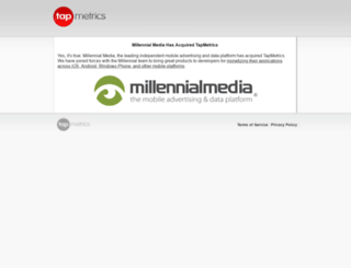 tapmetrics.com screenshot