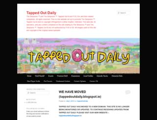 tappedoutdaily.wordpress.com screenshot