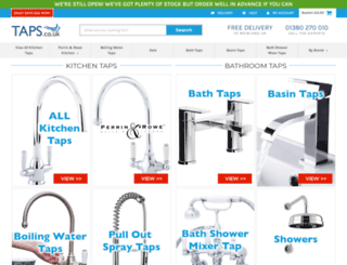 taps.co.uk screenshot
