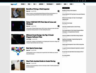 tapscape.com screenshot