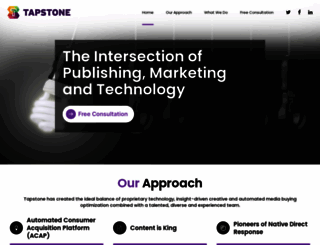 tapstone.com screenshot