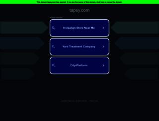 tapsy.com screenshot