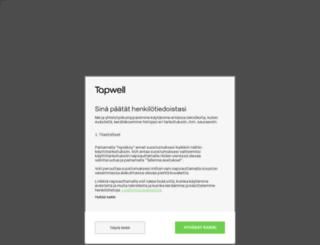 tapwell.fi screenshot