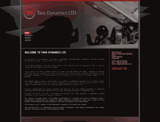 taradynamics.com screenshot