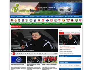 taraftarhaber.com screenshot