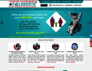 tarainstitute.com screenshot